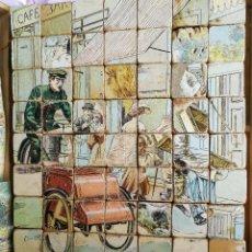Puzzles: PUZZLE DE CUBOS DE MADERA - ROMPECABEZAS - 1900 APROX - ANCIEN JEU DE CUBES EN BOIS - JFL - FRANCIA . Lote 96610763