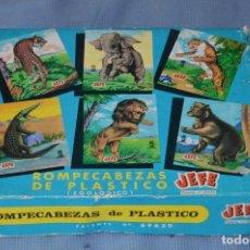 Puzzles: ANTIGUO ROMPECABEZAS REF. 861 - MARCA JEFE SALUDES - AÑOS 50/60 MADE IN SPAIN - BUEN ESTADO ¡MIRA!. Lote 97196839