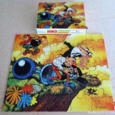 Puzzles: PUZZLE MORTADELO Y FILEMON. RARO!!!. REGALO DETERGENTE BONUX. AÑOS 70.. Lote 97518783