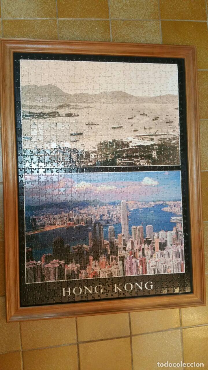 puzzle de hong kong en dos epocas distintas mon - Comprar Puzzles ...