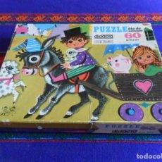 Puzzles: PUZZLE DIDACTA 60 PIEZAS DÍA DE CAMPO. AÑO 1969. RARO.. Lote 97927687