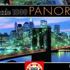 Puzzles: PUZZLE EDUCA 1000 PIEZAS - PUENTE DE BROOKLYN. NEW YORK. Lote 98233235