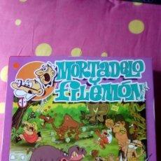 Puzzles: JUEGO PUZZLE PUZLE MORTADELO Y FILEMON AÑO 2002 DE DINOVA COMPLETO. Lote 98702603