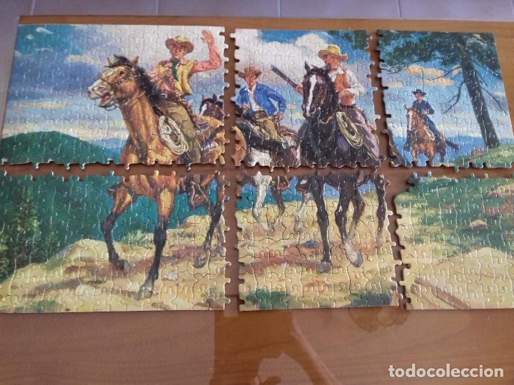 Puzzles: BONANZA x 2 PUZZLES 1964 + poster = Ver fotos + postal de regalo - Foto 2 - 100746915