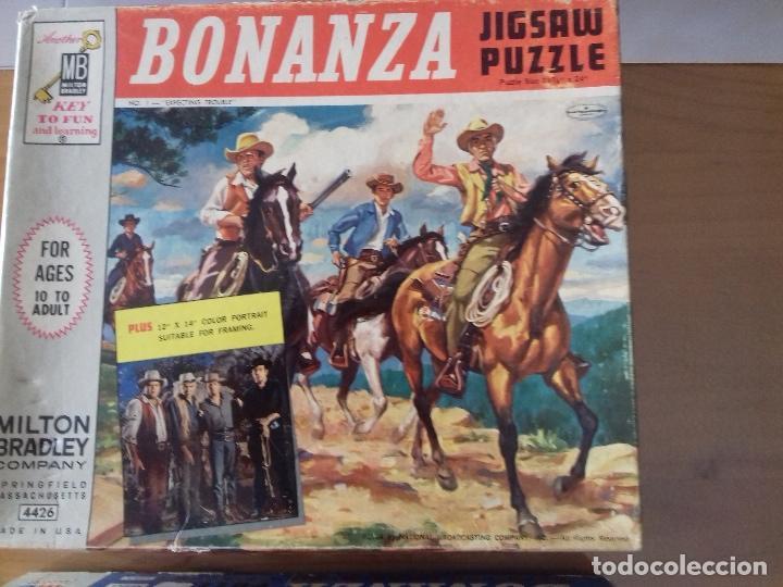 Puzzles: BONANZA x 2 PUZZLES 1964 + poster = Ver fotos + postal de regalo - Foto 4 - 100746915
