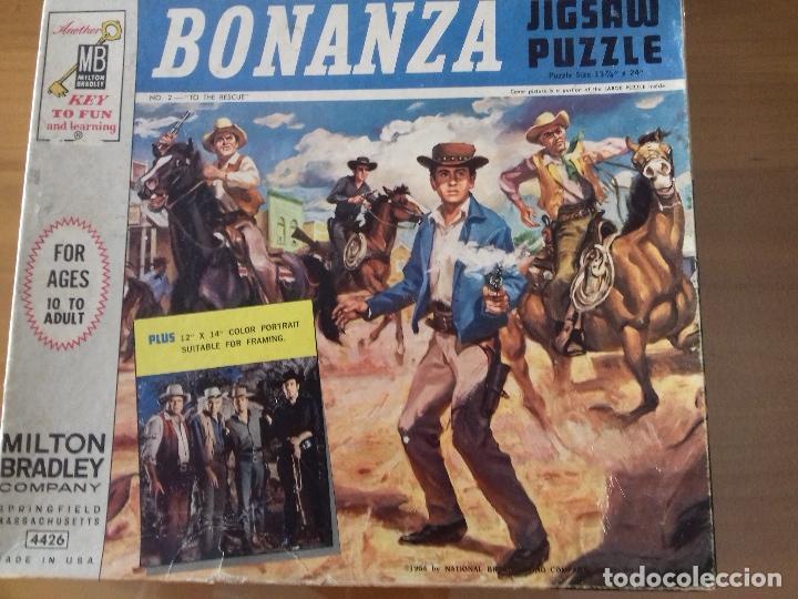 Puzzles: BONANZA x 2 PUZZLES 1964 + poster = Ver fotos + postal de regalo - Foto 5 - 100746915