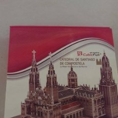 Puzzles: PUZZLE CATEDRAL DE SANTIAGO CUBIC FUN 3 D , CATEDRAL EN 3 DIMENSIONES. Lote 101211907