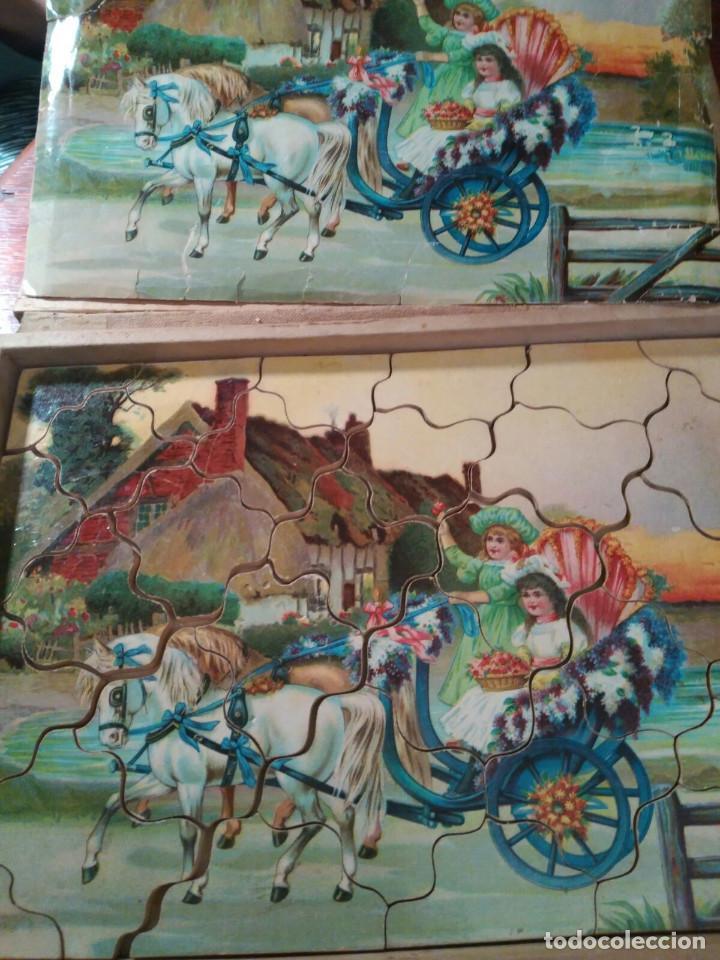 Puzzles: PUZZLE ANTIGUO MADERA (CAJA DE 6) - Foto 3 - 101724071