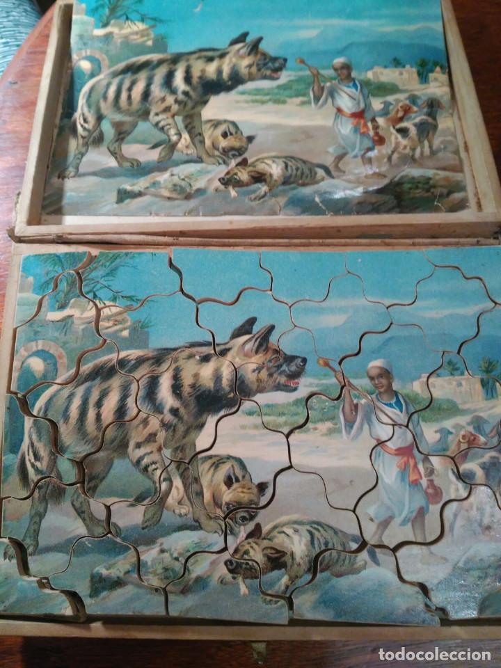 Puzzles: PUZZLE ANTIGUO MADERA (CAJA DE 6) - Foto 4 - 101724071