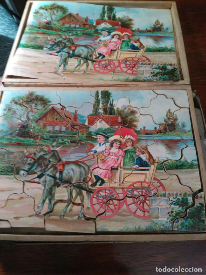 Puzzles: PUZZLE ANTIGUO MADERA (CAJA DE 6) - Foto 5 - 101724071