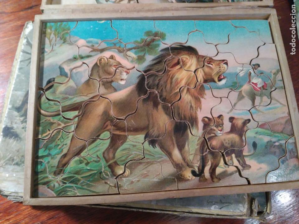 Puzzles: PUZZLE ANTIGUO MADERA (CAJA DE 6) - Foto 2 - 101724071
