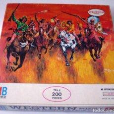 Puzzles: PUZZLE DE 200 PIEZAS - WESTERN. Lote 102643847