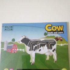 Puzzles: PUZZLE COW BUILD & LEARN SIN DESPRECINTAR. Lote 102915983