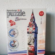 Puzzles: PUZZLE RAVENSBURGER BIG BEN LONDRES FLAG EDITION POR ESTRENAR. Lote 103345270