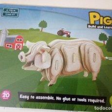 Puzzles: PUZLE PIG BUILD & LEARN SIN DESPRECINTARPIG. Lote 103799363