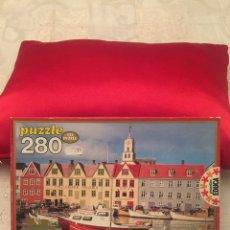 Puzzles: PUZZLE ISLAS FEROE 280 PIEZAS EDUCA 1982 SIN USAR. Lote 103808468