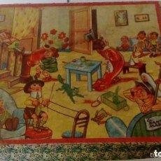 Puzzles: PUZZLE O ROMPECABEZAS ANTIGUO LA SANTA MARIA 6 ESCENAS (5 LAMINAS + CAJA) AÑOS 40 . Lote 103869287