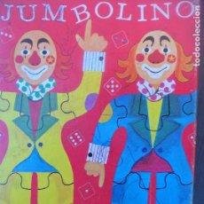 Puzzles: JUMBOLINO PAYASOS - JUEGO PUZZLE- COMPLETO CON DEFECTOS. Lote 103935595