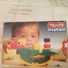 Puzzles: TENTE ELEPHANT 0265 EN CAJA PUZZLE CLEMENTONI RAVESBURGUER,FEBER,HASBRO,DISET,MB,CEFA,DJECO. Lote 103998374