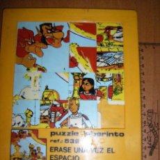 Puzzles: PUZZLE LABERINTO ERASE UNA VEZ EL ESPACIO 20X17 CMS. Lote 103998727