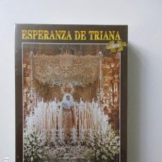 Puzzles: UNICO. PUZZLE ESPERANZA DE TRIANA, SEVILLA, 500 PIEZAS, 48X34 CM, PRECINTADO, SEMANA SANTA SEVILLA. Lote 104052003