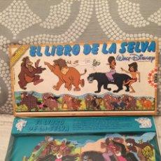 Puzzles: PUZZLE MADERA EL LIBRO DE LA SELVA WALT DISNEY EDUCA 82 SIN USAR RAVESBURGUER CLEMENTONI DISET HEYE. Lote 104103698