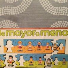 Puzzles: PUZZLE MADERA DE MAYOR A MENOR EDUCA 80 SIN USAR RAVESBURGUER CLEMENTONI DISET HEYE DJECO FEBER. Lote 104103866