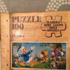 Puzzles: PUZZLE MADERA DONALD DISNEY EDUCA 83 SIN USAR ANTIGUO RAVESBURGUER CLEMENTONI DISET DJECO HEYE. Lote 104104271
