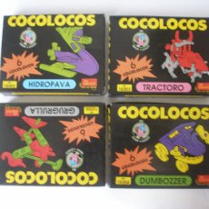 Puzzles: CUATRO JUEGOS COCOLOCOS DE EVALAND ALICANTE AÑOS 80 .- A ESTRENAR. Lote 103678183