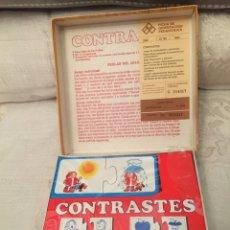 Puzzles: JUEGO PUZZLE MADERA CONTRASTE EDUCA 83 RAVESBURGUER,FEBER,MB,CEFA,BORRAS,CLEMENTONI CEFA MATTEL. Lote 104558768