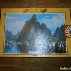 Puzzles: PUZZLE EDUCA 500 PIEZAS ISLAS LOFOTEN. Lote 105354111