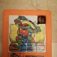Puzzles: MINI LABERINTO PUZZLE DESLIZABLE TORTUGAS NINJA 603. Lote 105364807