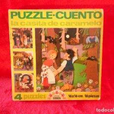 Puzzles: PUZZLE CUENTO LA CASITA DE CARAMELO EDUCA 1977. Lote 105580335