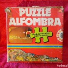 Puzzles: PUZZLE ALFOMBRA EDUCA 16 PIEZAS AÑOS 70. Lote 105582747