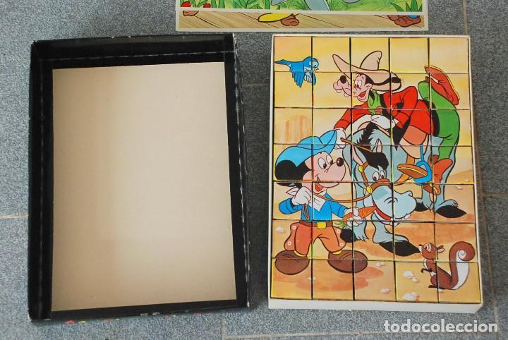 Puzzles: PUZZLE ROMPECABEZAS DE CUBOS - WALT DISNEY - EDIGRAF BARCELONA 1974 - Foto 2 - 107042603