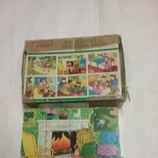 Puzzles: PUZZLE ROMPECABEZAS DE CUBOS DE MADERA . Lote 107197787