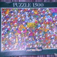Puzzles: PUZZLE MORDILLO, 1500 PIEZAS, MARCA EDUCA. COMPLETO?. Lote 107277695