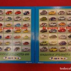 Puzzles: EL PUZZLE DEL SEAT 600. DOS CAJAS DE 1000 PIEZAS C/U. COMPLETOS. MUY RAROS DE ENCONTRAR. Lote 107666147