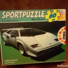 Puzzles: PUZZLE SPORTPUZZLE LAMBORGHINI COUNTACH EDUCA. Lote 108012035