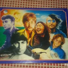 Puzzles: PUZZLE SEVEN FACES OF JOHN LENNON .THE SHANNON COLLECTION A GILLIARD PUZZLE. 1997, 750 PIEZAS 56X42 . Lote 109060647