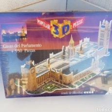 Puzzles: A ESTRENAR!!! POPULAR 3D PUZZLE CASAS DEL PARLAMENTO +950 PIEZAS. Lote 109462751