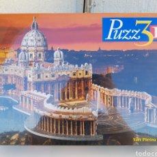 Puzzles: A ESTRENAR!!! SAN PIETRO ROMA 996 PIEZAS PUZZ3D PUZZLES 3D MB. Lote 109463268
