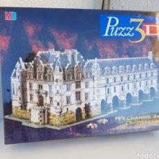 Puzzles: A ESTRENAR!!! CHATEAU DE CHENONCEAU 806 PIEZZAS PUZZLE PUZZ3D MB. Lote 109463708