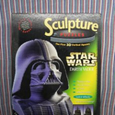 Puzzles: DARTH VADER SCULPTURE STARS WARS. Lote 109473883