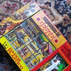 Puzzles: ROMPECABEZAS DE 12 DADOS PLÁSTICO DEL OESTE CON FIGURAS- PAPIROTS, SIN ABRIR.AÑOS 70'S.. Lote 110140927