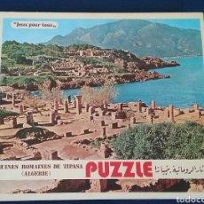 Puzzles: PUZLE. RUINAS ROMANAS DE TIPASA.ARGELIA.528 PIEZAS.LA CAJA ESTÁ SIN ABRIR.PRECINTADA.AÑO 1983. Lote 110376288