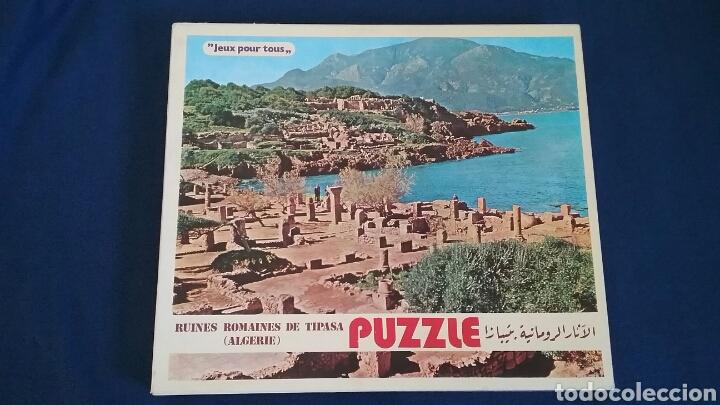 Puzzles: PUZLE. RUINAS ROMANAS DE TIPASA.ARGELIA.528 PIEZAS.LA CAJA ESTÁ SIN ABRIR.PRECINTADA.AÑO 1983 - Foto 2 - 110376288