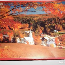 Puzzles: PUZZLE 1000 PIEZAS PAISAJE PUEBLO OTOÑAL FAVORIT PUZLE ROMPECABEZAS. Lote 111642655