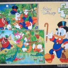 Puzzles: 2 PUZZLES TIO GILITO DE WALT DISNEY (EDUCA, 1987). Lote 111847195