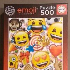 Puzzles: EMOJI. PUZZLE 500 PIEZAS. THE OFFICIAL BRAND. EDUCA. COMO NUEVO!!!. Lote 112167887